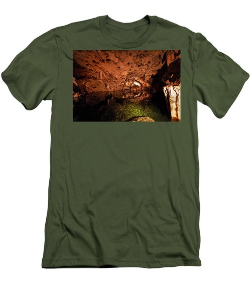 The Cave Men's T-Shirt (Slim Fit) by Bill Howard