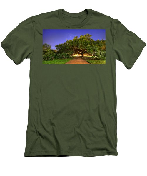 The Century Tree Men's T-Shirt (Slim Fit) by David Morefield