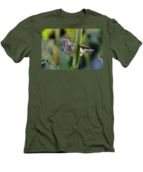 Men's T-Shirt (Slim Fit) featuring the photograph The Challenge by Gary Holmes