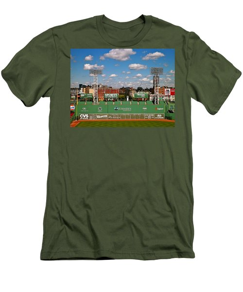 The Classic II Fenway Park Collection  Men's T-Shirt (Slim Fit) by Iconic Images Art Gallery David Pucciarelli