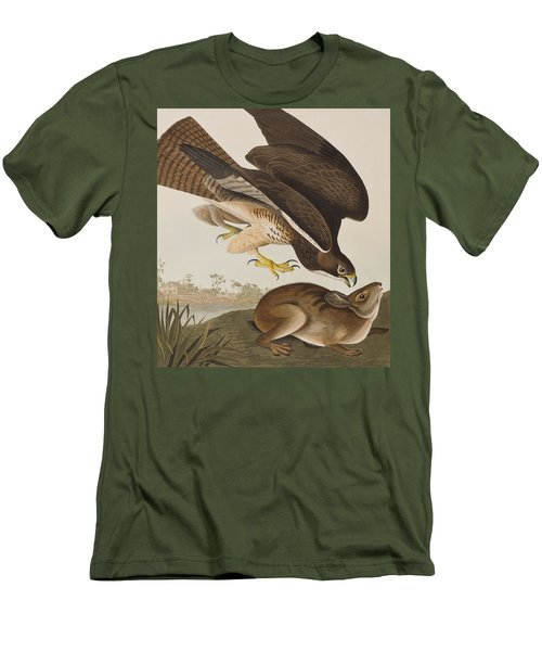 The Common Buzzard Men's T-Shirt (Athletic Fit)