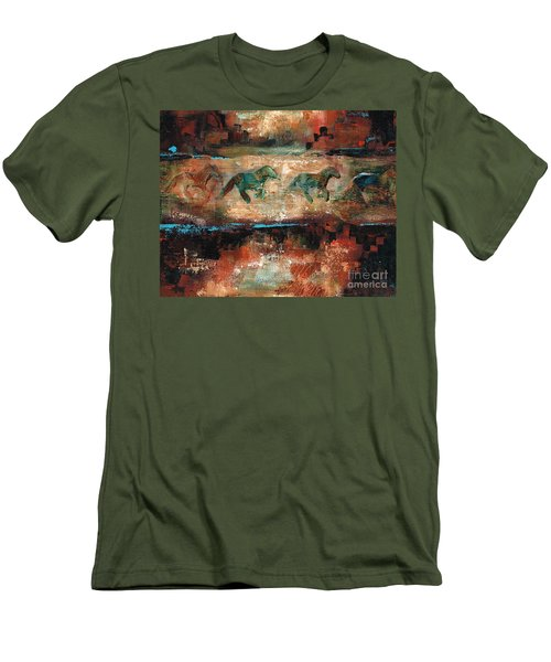 The Cookie Jar Men's T-Shirt (Slim Fit) by Frances Marino