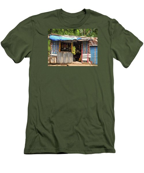 The Corner Market Men's T-Shirt (Slim Fit) by Dominic Piperata