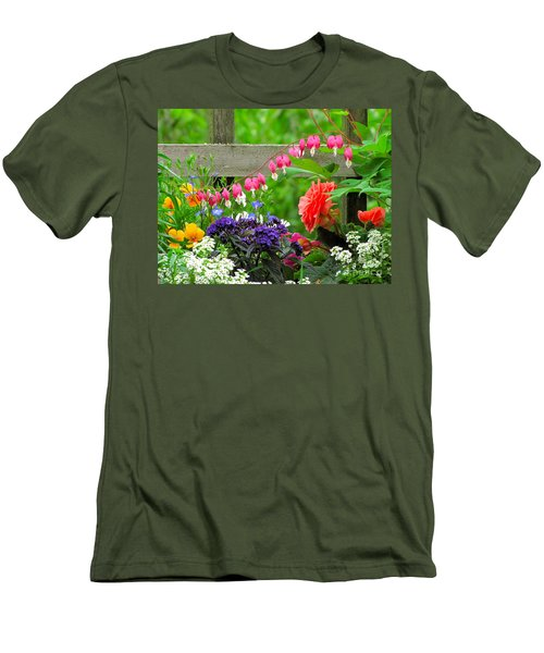 The Dance Of Spring Men's T-Shirt (Slim Fit) by Sean Griffin