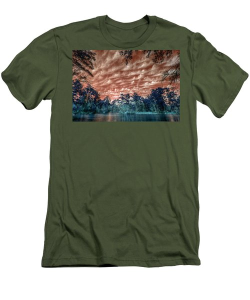 The Day After... Men's T-Shirt (Slim Fit) by Linda Unger