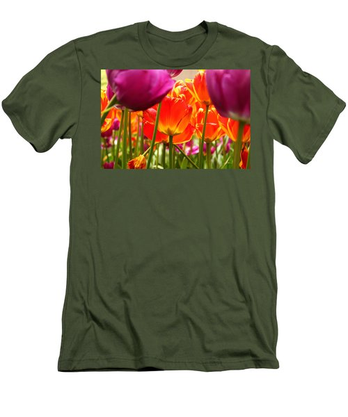 The Drooping Tulip Men's T-Shirt (Athletic Fit)