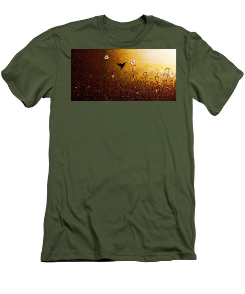 The Flight Of A Hummingbird Men's T-Shirt (Athletic Fit)
