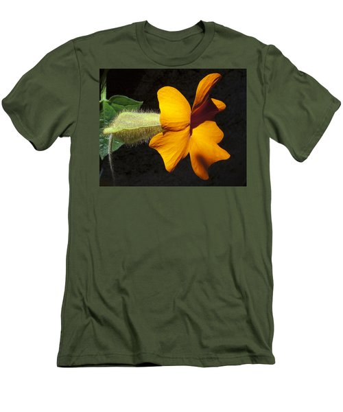 Men's T-Shirt (Slim Fit) featuring the photograph The Force That Through The Green Fuse ... by Joe Schofield
