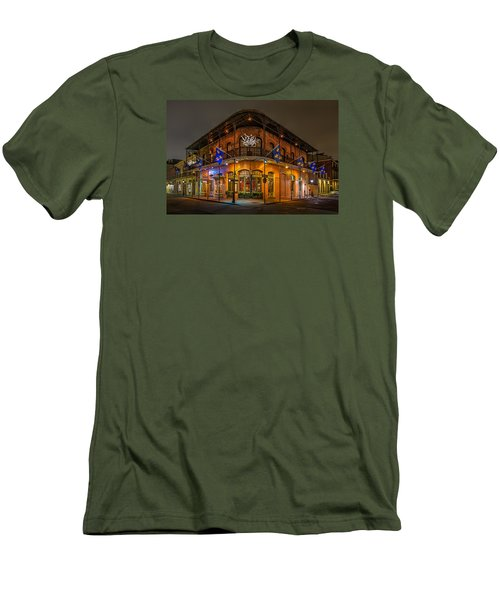 Men's T-Shirt (Slim Fit) featuring the photograph The French Quarter by Tim Stanley