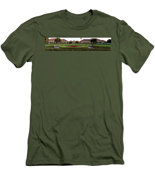 The Front Of Stanford University Men's T-Shirt (Athletic Fit)