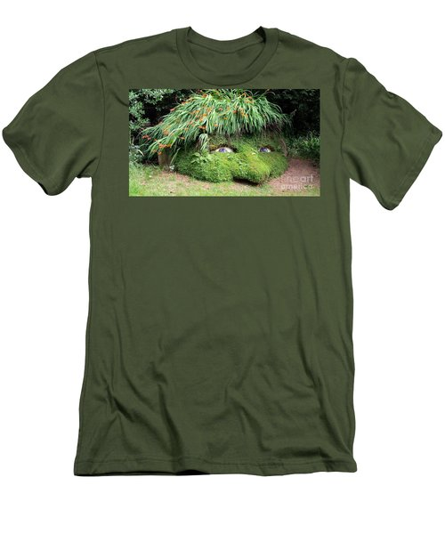 The Giant's Head Heligan Cornwall Men's T-Shirt (Slim Fit) by Richard Brookes