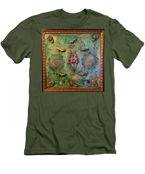 The Gift By Alfredo Garcia Art Men's T-Shirt (Athletic Fit)