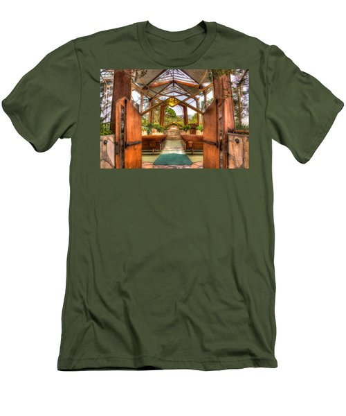 The Glass Church Men's T-Shirt (Athletic Fit)