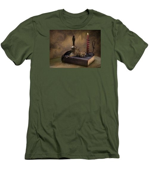 Men's T-Shirt (Slim Fit) featuring the photograph The Good Seed by Robin-Lee Vieira
