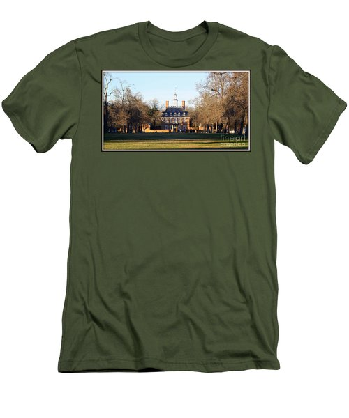 The Governor's Palace Men's T-Shirt (Athletic Fit)