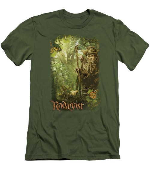 The Hobbit - In The Woods Men's T-Shirt (Slim Fit) by Brand A