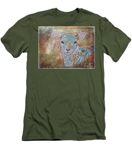 the Lamb Men's T-Shirt (Athletic Fit)