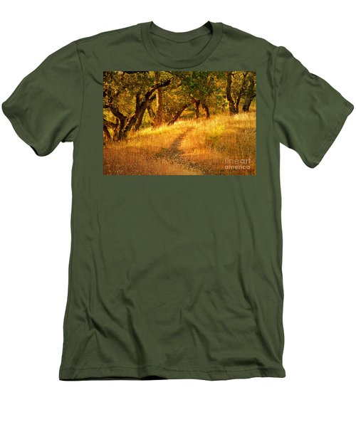The Late Afternoon Walk Men's T-Shirt (Athletic Fit)