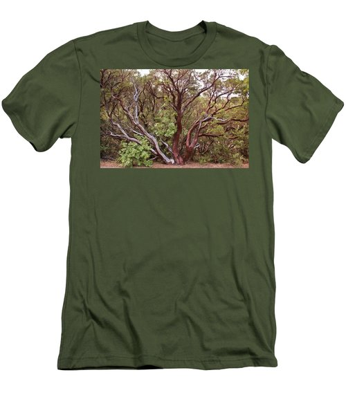 The Manzanita Tree Men's T-Shirt (Athletic Fit)
