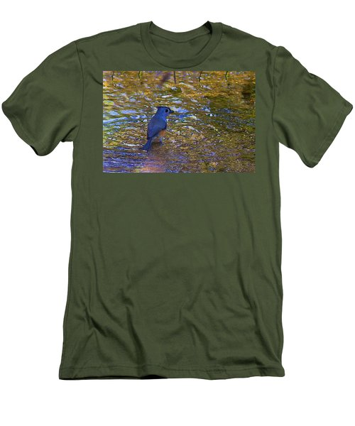 Men's T-Shirt (Slim Fit) featuring the photograph The Naiad by Gary Holmes