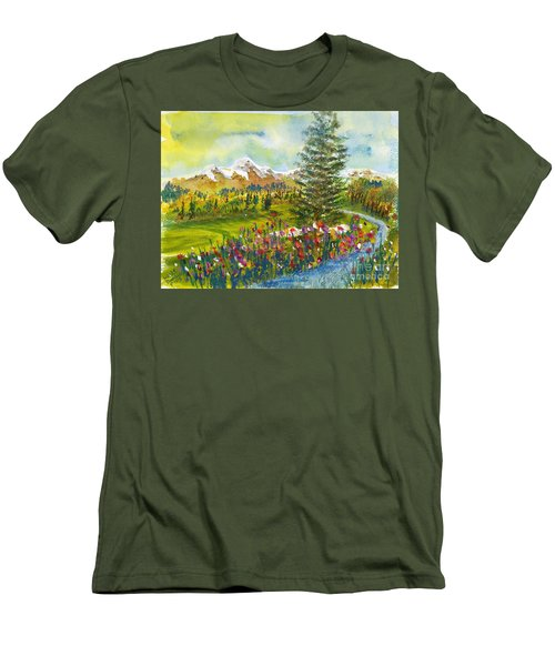 The Ninth Hole Men's T-Shirt (Athletic Fit)