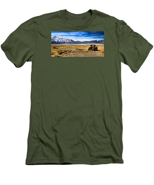 The Old One Men's T-Shirt (Slim Fit) by Robert Bales