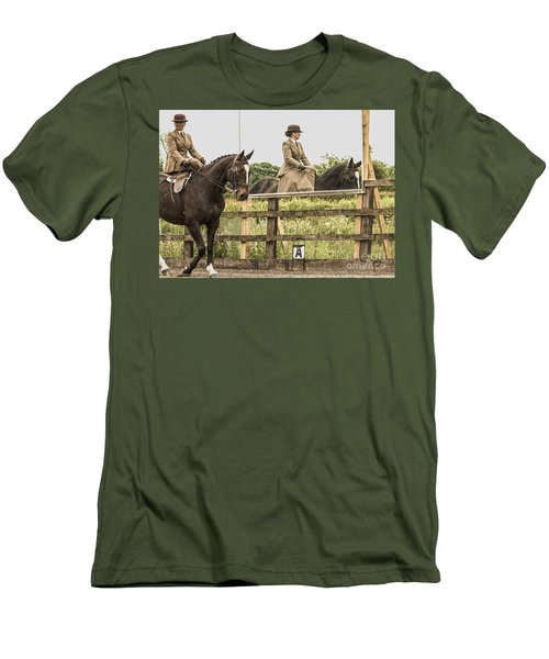 The Other Side Of The Saddle Men's T-Shirt (Athletic Fit)