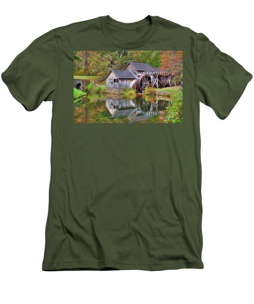 The Painted Mill Men's T-Shirt (Athletic Fit)