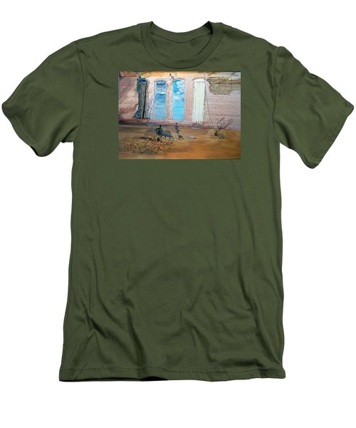 The Parade Of The Moods Men's T-Shirt (Slim Fit) by Lazaro Hurtado