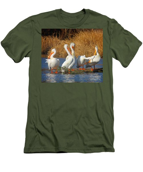 The Pelican Gang Men's T-Shirt (Athletic Fit)