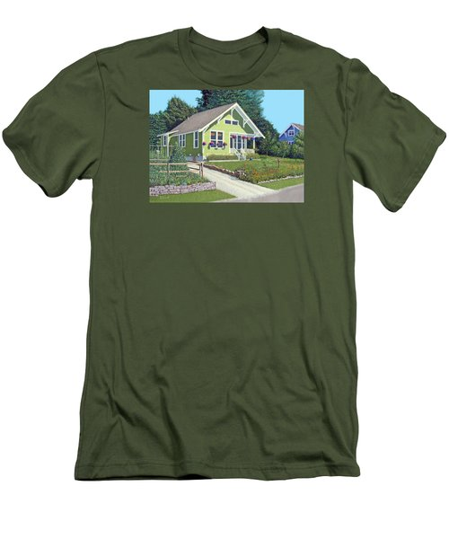 Our Neighbour's House Men's T-Shirt (Slim Fit) by Gary Giacomelli