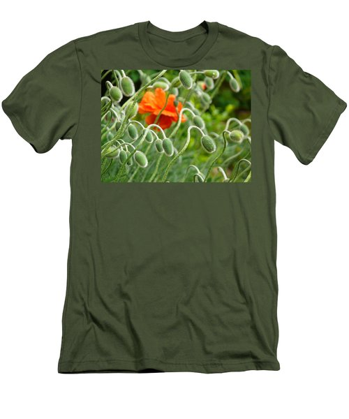 The Poppy Men's T-Shirt (Slim Fit) by Evelyn Tambour