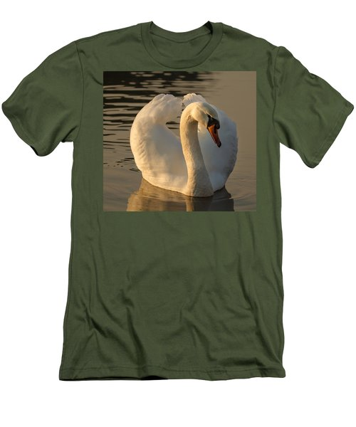 Men's T-Shirt (Slim Fit) featuring the photograph The Pure In Heart by Rose-Maries Pictures