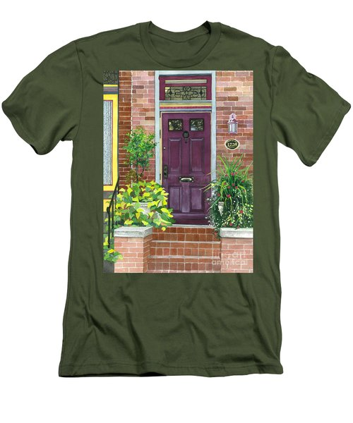 The Purple Door Men's T-Shirt (Athletic Fit)