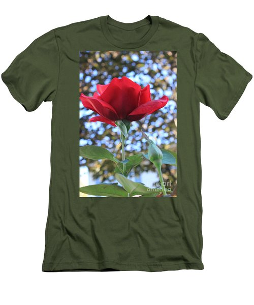 The Rose And Bud Men's T-Shirt (Athletic Fit)
