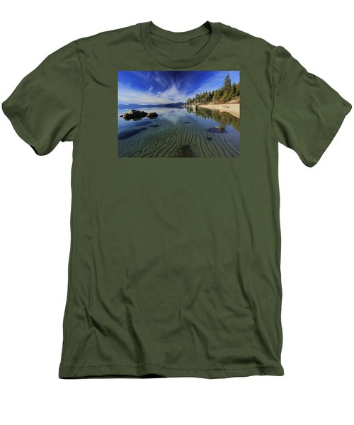 Men's T-Shirt (Slim Fit) featuring the photograph The Sands Of Time by Sean Sarsfield