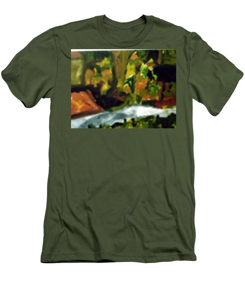 The Sidewalk  Men's T-Shirt (Athletic Fit)
