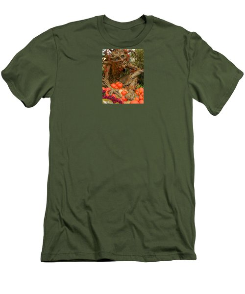 The Spirit Of The Pumpkin Men's T-Shirt (Slim Fit) by Venetia Featherstone-Witty