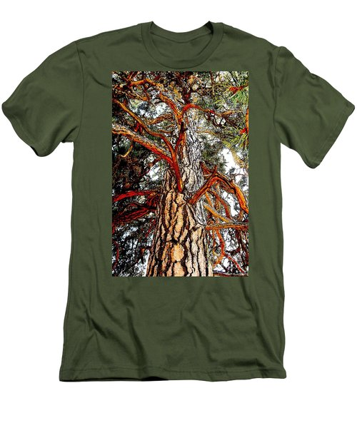 Men's T-Shirt (Slim Fit) featuring the photograph The Strong One by Joseph J Stevens