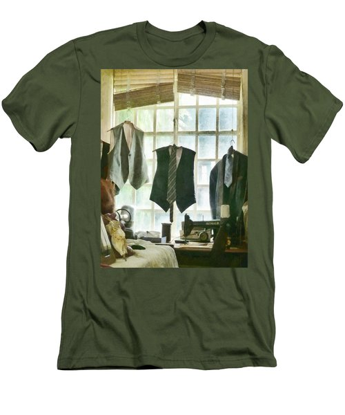The Tailor Shop Men's T-Shirt (Athletic Fit)