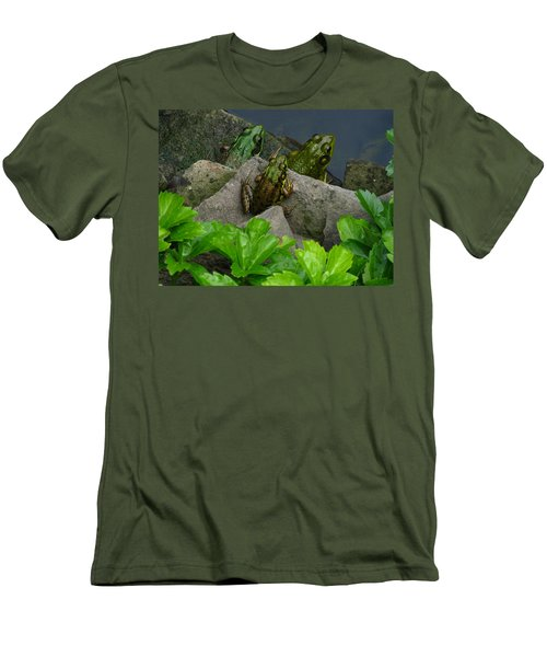 Men's T-Shirt (Slim Fit) featuring the photograph The Three Amigos by Raymond Salani III