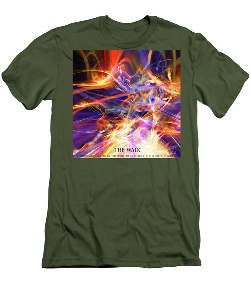 The Walk Men's T-Shirt (Athletic Fit)