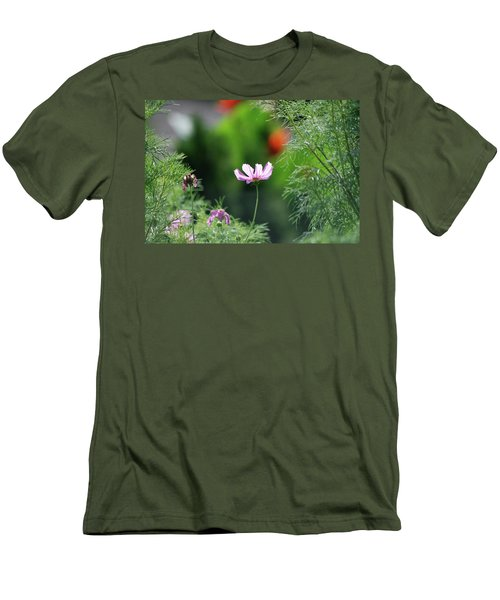 Men's T-Shirt (Slim Fit) featuring the photograph The Warmth Of Summer by Thomas Woolworth