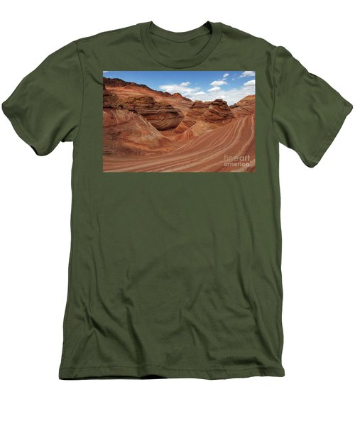 The Wave Center Of The Universe Men's T-Shirt (Athletic Fit)