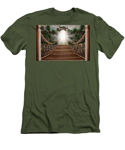 The Way And The Gate Men's T-Shirt (Athletic Fit)