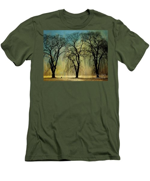 The Weeping Trees Men's T-Shirt (Athletic Fit)
