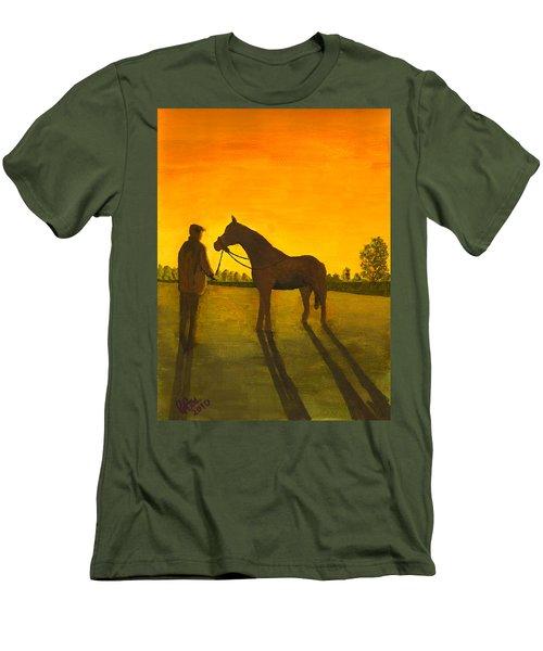 The Whisperer Men's T-Shirt (Athletic Fit)