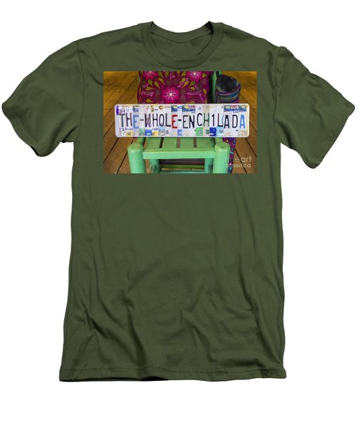 The Whole Enchilada Men's T-Shirt (Athletic Fit)