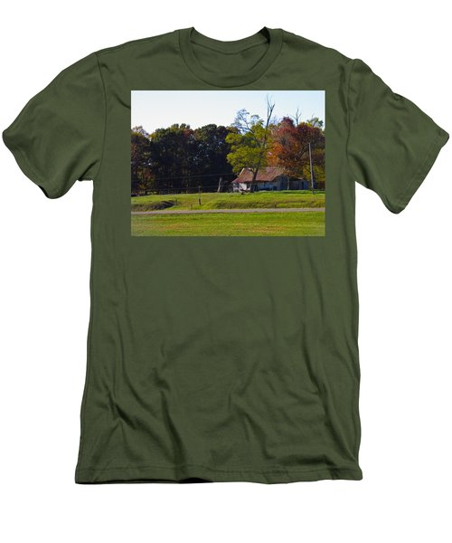 Men's T-Shirt (Slim Fit) featuring the photograph This Old House by Nick Kirby