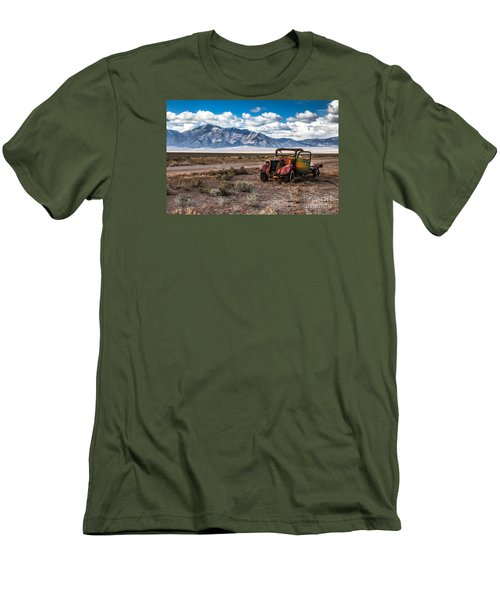 This Old Truck Men's T-Shirt (Slim Fit) by Robert Bales